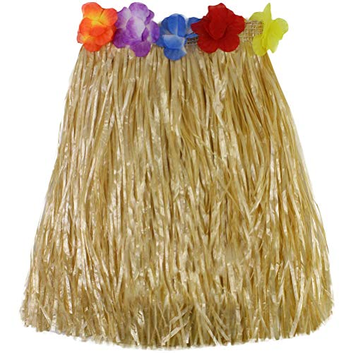 Party Party Party - 40cm Children Adult Hula Show Grass Beach Dance Activity Skirt Decorations Dress Wreath Bra Garland - Supplies Hawaiian Party Adult Toys Orchard