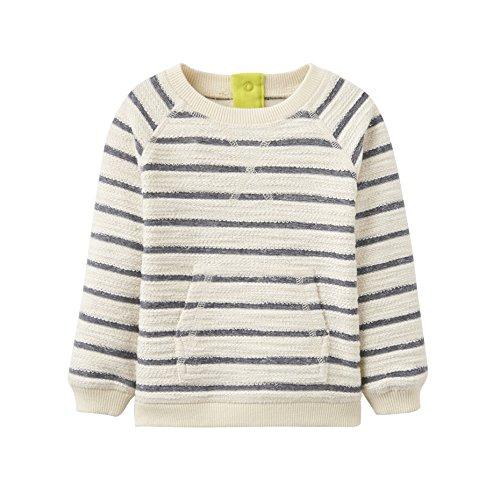 Joules Infant Miller Cream Striped Sweatshirt-3-6 months