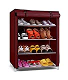 #10: Saimani 4 Layer Multipurpose Storage Organizer Shoe Rack, Colour - Random Colour (As Per Availability)