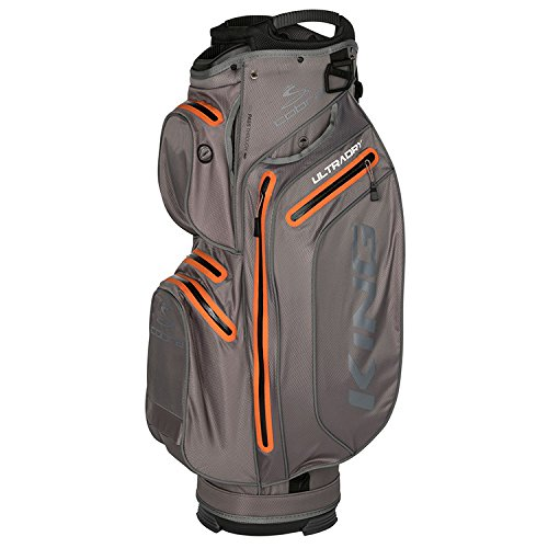 Puma Herren Tasche Sporttasche Rucksack Cart Bags Puma KING ULTRADRY Cart Bag Cart Bags Golf PERFORMANCE GOLF Male 909282_02-Nardo Grey-OSFA -