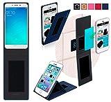 Oppo F1 Plus Hülle in blau - innovative 4 in 1 Handyhülle