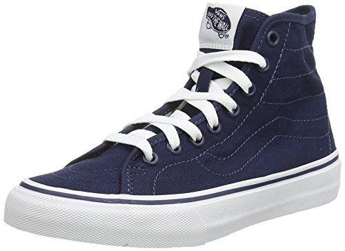 Vans  U SK8-HI DECON, Sneakers Basses mixte adulte Bleu