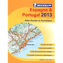 Atlas routier Michelin Espagne-Portugal 2013