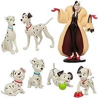 101 Dalmatians Figure Play Set 7 pieces from Disney