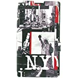 Akashi Etui folio pour Nokia Lumia 630/635 NYC Statue