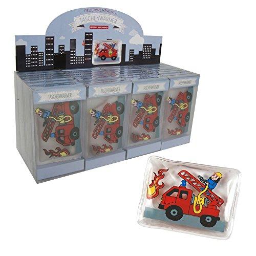 Annastore 8 x Taschenwärmer Feuerwehrauto - Feuerwehr 7 x 10 cm