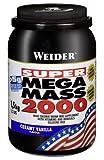 Muskelaufbaumittel - Weider Mega Mass 2000, Vanille, 1,5kg Dose