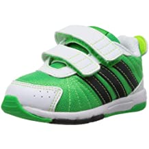 adidas Unisex-Kinder Snice 3 CF I Sneaker, Türkisgrün/Orange, 25 EU