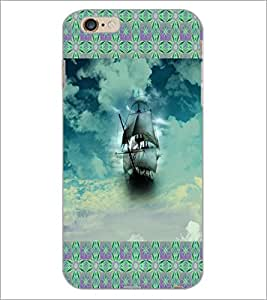 PrintDhaba Ship D-6017 Back Case Cover for APPLE IPHONE 6S PLUS (Multi-Coloured)
