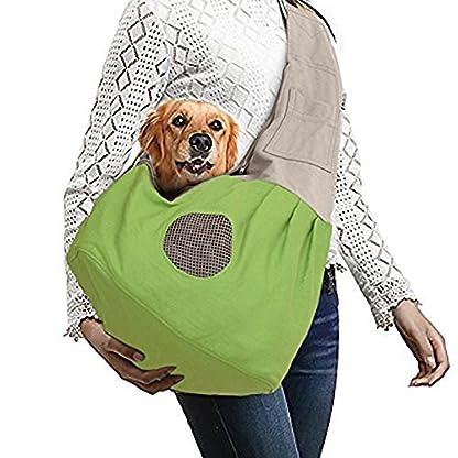 Shoulder Carry Handbag for Pets - AntEuro Portable Hands-free Pet Foldable Travel Carrier Bag, Sling Shoulder Bag for… 1
