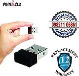 #7: Pinnaclz 300 Mbps mini / nano USB 2.0 wireless wi fi network adapter / dongle receiver for PC, Desktop, Laptop