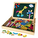 YIXIN Magnetisches Spielzeug Magnet Doodle aus Holz