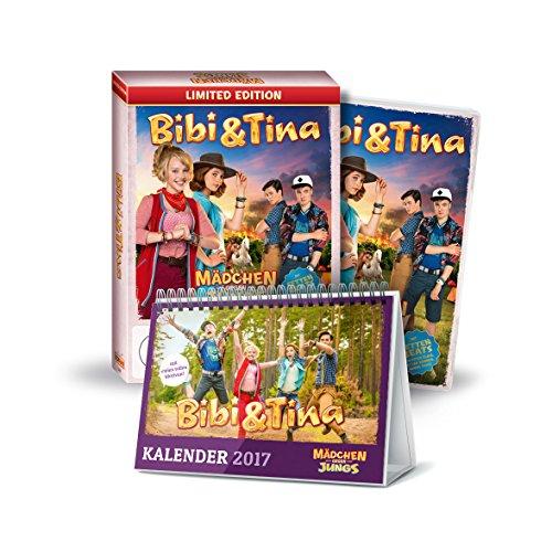 Bibi & Tina: Mädchen gegen Jungs! +Tischkalender 2017  Limited Edition (exklusiv bei Amazon.de)