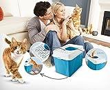einfach zu reinigendes Katzenklo