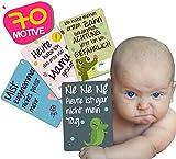 JANEYO - Meilensteinkarten für Ihr Baby  70 Meilenstein Motive: inklusive Wochen-, Monats-Karten und lustigen Karten  Fotokarten für die ersten 18 bis 24 Lebensmonate