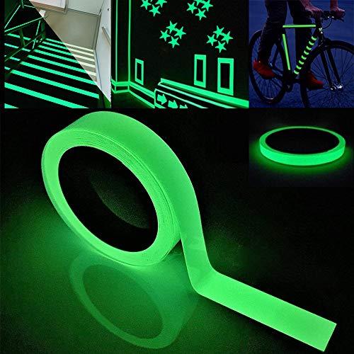 FULARR 10m X 2cm Premium Pegatina Cinta Luminosa