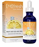 Best peeling chimique - Peeling Gel d'acide de Fruits 15% Review