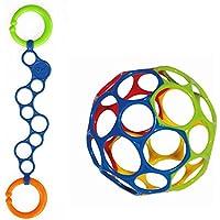 Oball Set Oball blau mit O-Link blau für Buben in blau rot grün preisvergleich bei kleinkindspielzeugpreise.eu