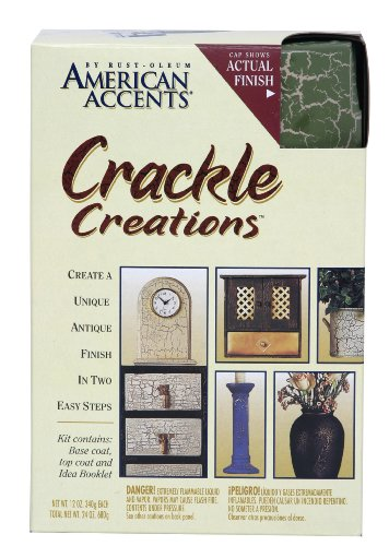 Rust Oleum Rustoleum American Accents Crackle Creations Kit Crackle Paint Willow Green
