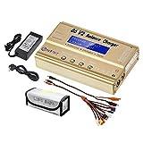 LiPo chargeur balance discharger chargeur de batterie NiMH/NiCD/Li-Fe packs Affichage...