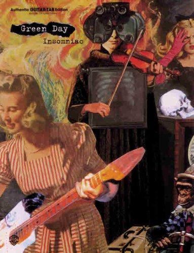 Green Day Insomniac: Insomniac - Authentic Guitar Tab Edition (Guitar Tab Green Day)