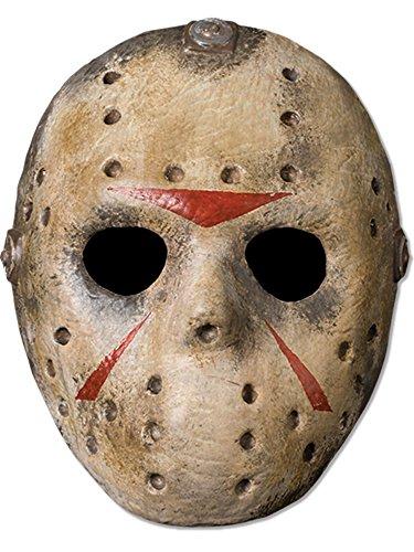 Jason Voorhees 'Freitag der 13te' Hockey Maske für (Jason Kostüm Killer)