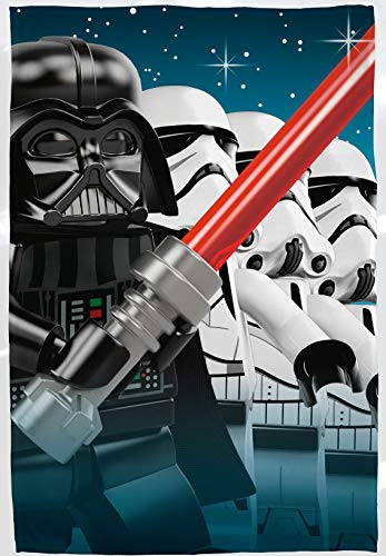 Disney lego star wars 'empire' design super soffice coperta in pile