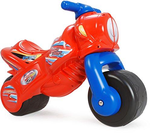 INJUSA - Moto correpasillos The Boss para niños de 18 Meses, roja y Azul  (197/000)