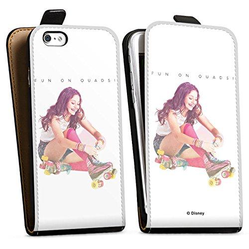 Apple iPhone 6 Silikon Hülle Case Schutzhülle Soy Luna Merchandise Fanartikel Disney Downflip Tasche schwarz