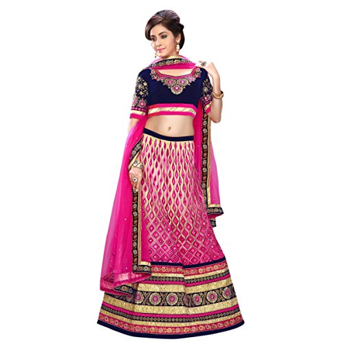 triveni-regal-magenta-colored-brode-net-lehenga-choli