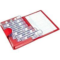 Medidos Pillen-Tablettenbox für 7 Tage | 7 einzelne Pillendosen für jeden Tag der Woche | Wochenset mit rotem... preisvergleich bei billige-tabletten.eu
