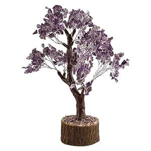 Odishabazaar Feng Shui Gems Tree - Natural Amethyst Tree for Brain