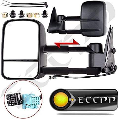 ECCPP�® Towing Mirrors Pair Set for 2003-2006 Chevy Silverado 1500