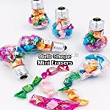#6: Mini Eraser In Plastic Bulb Pack of 1 (With Free Token)