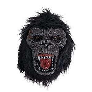 Bristol BM555 - Máscara de Gorilla unisex, color negro