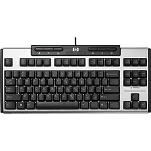 HP AS601AA Nero, Argento tastiera