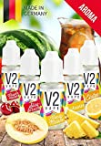 V2 Vape Set Sommerzeit AROMA/KONZENTRAT hochdosiertes Premium Lebensmittel-Aroma zum selber mischen von E-Liquid/Liquid-