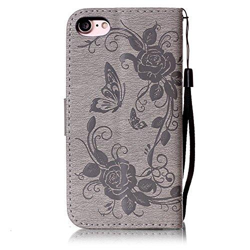 Coque iPhone 7, Meet de pour Apple iPhone 7 (4,7 Zoll) Folio Case ,Wallet flip étui en cuir / Pouch / Case / Holster / Wallet / Case, Apple iPhone 7 (4,7 Zoll) PU Housse / en cuir Wallet Style de couv A