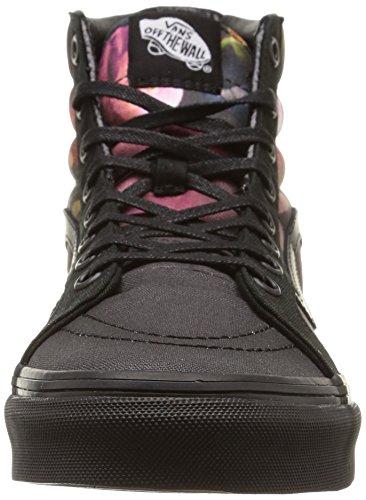 Vans U Sk8-Hi Slim Ombre Floral, Baskets Basses Mixte Adulte Multicolore (Ombre Floral/Black/Black)