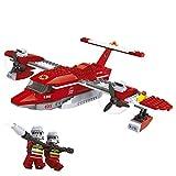 Ausini - Juego de bloques, construcción avión de bomberos- 405 piezas (Colorbaby 42838)