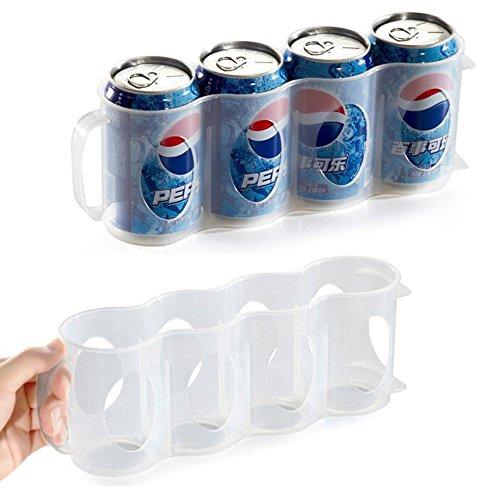 Bier Soda Kann Aufbewahrungsbox, Küche Kühlschrank Drink Flaschenhalter Kühlschrank Kühlung Organizer von Wady (Kühlschrank-organizer Soda)