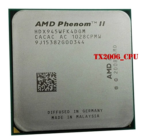 (4x 3.00GHz 95W) HDX945WFK4DGI CPU Sockel AM2+ AM3 #6428 (Amd Phenom Am2)