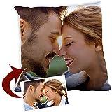 Lolapix Cojín Cuadrado Personalizado con tu Foto, diseño o Texto, Original y Exclusivo Distintos tamaños a Elegir. Relleno Incluido. Tamaño 30x30cm.