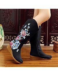 b1fd64083d GTVERNH-in inverno la vecchia pechino panno scarpe sono elevati stile  nazionale vento cotone stivali e l'interno…