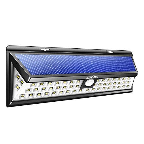 Lámpara solar Litom 54 LEDs 526 Lúmenes