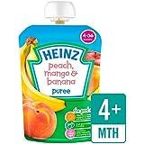 Heinz Peach lisse, mangue et banane 4-36 MOIS 100g