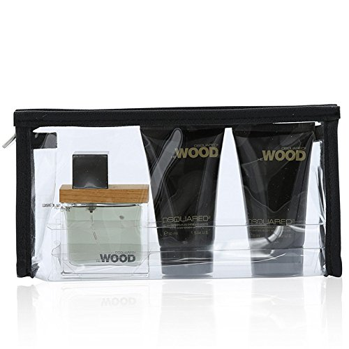 DSquared2 He Wood Gift Set 30ml EDT + 30ml Shower Gel + 30ml Body Lotion