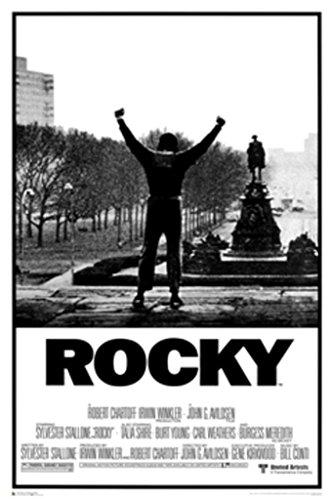 Generic Rocky Poster–Sein Ganzes Leben Wurde A Million to One Shot Unframed 24 x 36 (24x36) Unframed