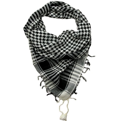 desert-scarf-black-and-white-lovarzi-shemagh-mens-and-womens-scarves-scarfs-for-men-and-women