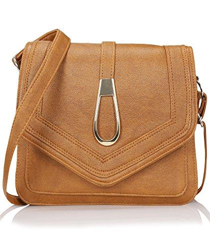 Kleio Women\'s Sling Bag (Edk1031Kl-Ta,Tan)